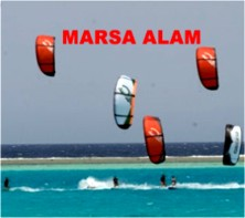 Kiting in Marsa Alam