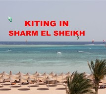 Kiting in Sharm