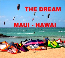 Maui Hawai Kiteboarding
